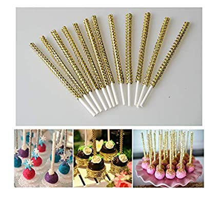 Kitchen, Dining & Bar Other Baking Accessories 100 Purple Bling Cake Pop Sticks Lollipop Sticks 6 Inch Sticks