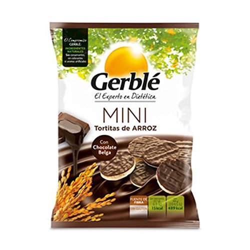 Mini Tortitas De Arroz Con Chocolate Belga Gerblé 48 G: Amazon.es: Alimentación y bebidas