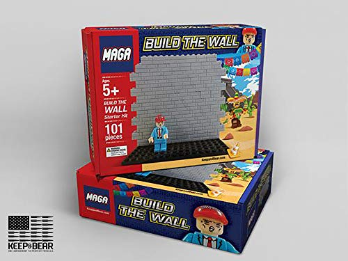 Build The Wall President Trump Model in Stock Arrives Before Christmas