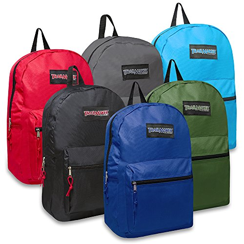 17 Inch Paradigmatic Backpack - 6 Colors Case Pack 24