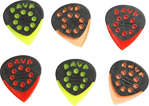 - Dava Jazz Grip Combo Small 6-Pack Assorted Colors