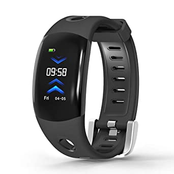 "Star_wuvi 0.96""LCD Screen Smart Watch,Waterproof Fitness Activity Tracker with Heart Rate Monitor"