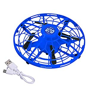 Intelligent Induction Drone Toy, Mini Quadcopter USB Flying Toy Four Axis Aircraft for Boys Girls Teenagers Adults, Drop Resistant, Rechargeable