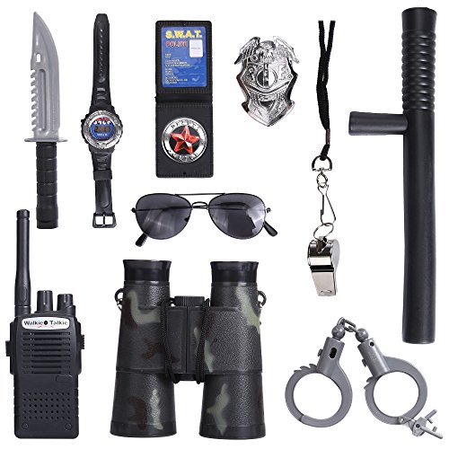 [Police Role Play Kit] (Swat Costumes Kid)