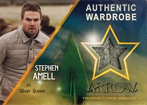 Arrow Season 4 Factory Sealed Trading Card Binder Album w B1 Costume Card