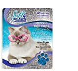 Feline Soft Claw Nail Caps - Medium - Blue Sparkle