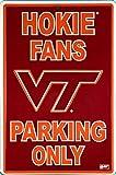 Virginia Tech Hokie Large Parking Sign