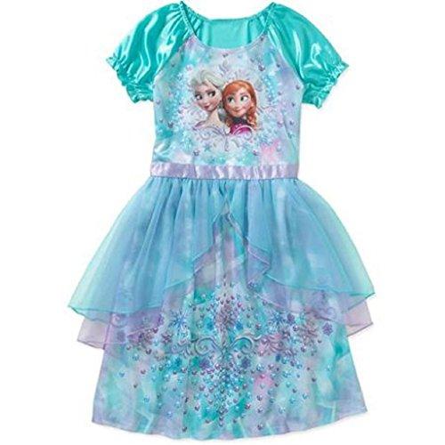DISNEY Frozen Girls Fantasy Gown