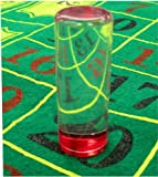 Thin Red Las Vegas Casino Acrylic Roulette Marker