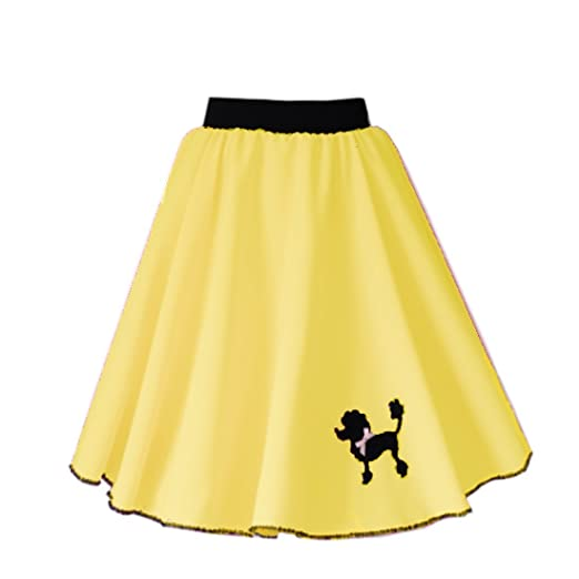 Mums Essentials Girls Poodle Polyester Rock n Roll Skirt - For Dancing, 50s  60s, Theatre, Show, Events: Amazon.co.uk: Clothing