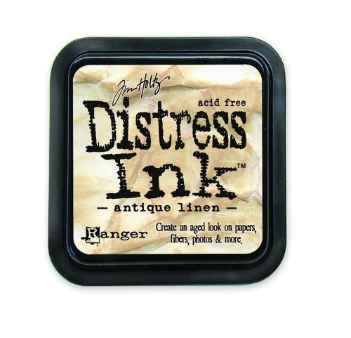 (Ranger Tim Holtz Distress Ink Pad, Antique Linen )
