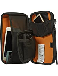 Basics Funda de viaje universales para pequeños dispositivos electrónicos y accesorios, Paquete de 10, S, Negro