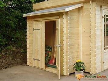 Trastero adosado para caseta de jardín (madera, 178 cm): Amazon.es: Hogar
