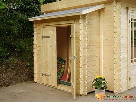 Trastero adosado para caseta de jardín (madera, 178 cm)