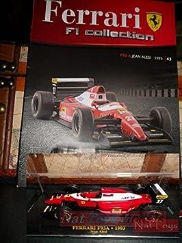 Ferrari F1 Collection F93A 1993 Alesi Model +BOX + fas. Fabbri DIE ...