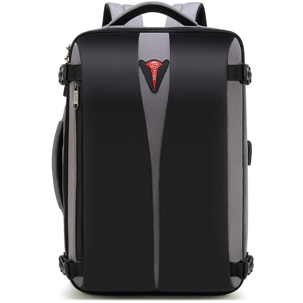 BLJF Rucksack Anti-Thfet Business Briefcase Rucksack mit TSA Lock Large Capacity Travel Bag mit USB Charge Port,B