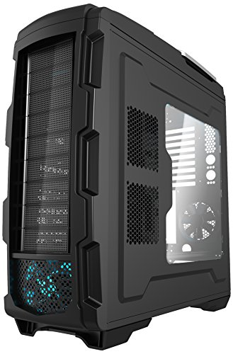 Azza CSAZ-GT 1 Full Tower Computer Gaming Case, - Tower Directions Place Water