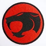 Thundercats Iron or Sew On Embroidered Patch Art Craft by Fabric Factory UK
