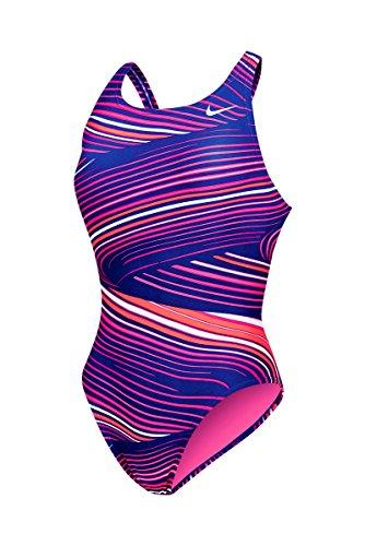 Nike Riptide Fastback Tank Swimsuit Women's 36 DeepNight (Fastback Tank Swimsuit)
