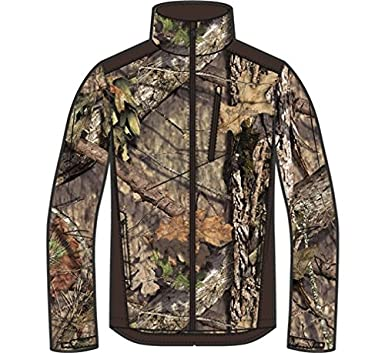 e9dc1414bc7ca Image Unavailable. Image not available for. Color: Columbia Men's Stealth  Shot III Softshell Jacket Polyester Mossy Oak Break-Up Country Camo Large