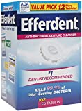 Efferdent Original Value Size 102ct Efferdent Original Value Pk 102ct