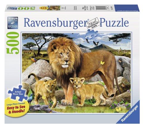 Ravensburger Lion Pride Large Format Jigsaw Puzzle (500-Piece)
