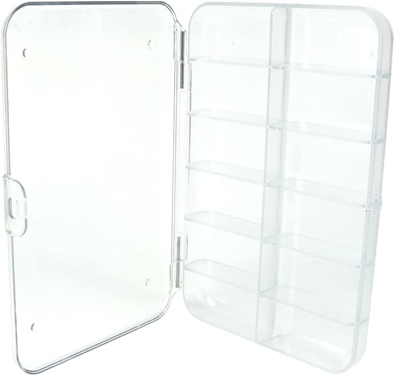 Aventik Streamer Fly Tackle//Lure Box In Three Colors With Three Different Foams