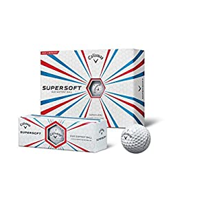 Callaway 3 Bälle Supersoft white Golfbälle - *