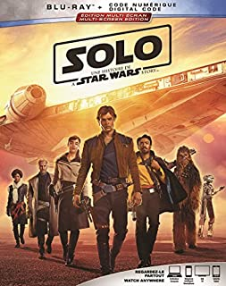 SOLO: A STAR WARS STORY [Blu-ray] (Bilingual) (B07CPCFVB8) | Amazon Products