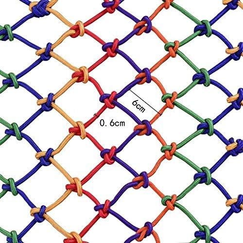 カラー保護ネット/装飾的なネットナイロンロープネット安全ネットバルコニー、階段落下防止ネットフェンスネットネット幅2メートル (Size : 2*9m)