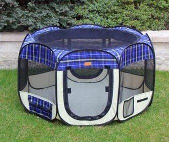 New BestPet Pet Dog Cat Tent Playpen Exercise Play Pen Soft Crate