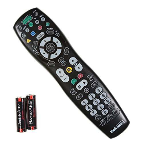 2025B0 B1 Mediacom Remote Control For Tv Cable Box On Demand With Batteries