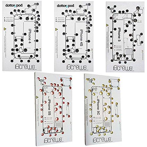BisLinks iScrews Professional Repair Organiser Sheet Tray Mat for iPhone 4 4S 5 5C 5S