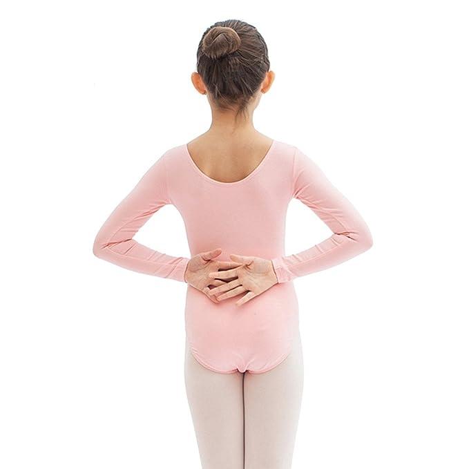 afb383fe1 Amazon.com  Girl s Ballet Leotard Gymnastics Dance Leotards Girls ...