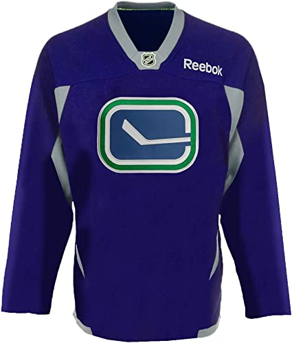 Vancouver Canucks NHL Reebok Purple