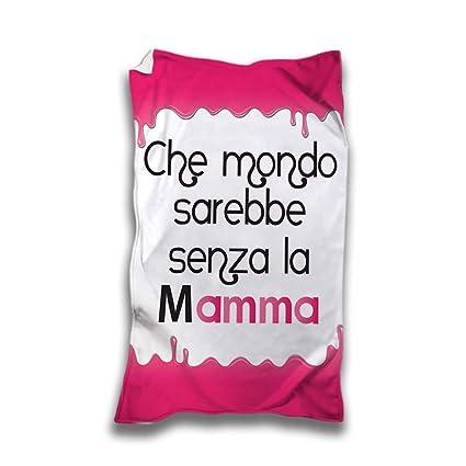 Toalla Playa Idea regalo día de la madre que mundo sarebbe sin la madre