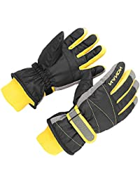 Kids Ski Snow Gloves Snowboard Winter Warm Cold Weather Gloves for Boys Girls Children