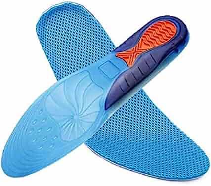 067b802da9 Plantar Fasciitis Inserts, Hallux Rigidus Orthotic Shoes Insoles for Men &  Women, Full Length
