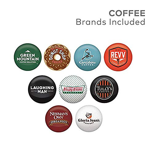 Keurig Bold Roast Coffee Collection Bold Lover's, Single Serve Coffee K Cup Pods for Keurig Brewers, Dark Roast Variety Pack, 40Count