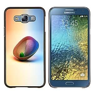 For Samsung Galaxy E7 E700 Case , Resumen 3D- Diseño Patrón Teléfono Caso Cubierta Case Bumper Duro Protección Case Cover Funda