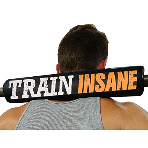 Train Insane pads for barbell barbell shoulder squat sponge barbell pad barbell foam pad barbell pad barbell sponge pad squat bar shoulder squat bar cushion squat bars squat bar (Free Barbell)