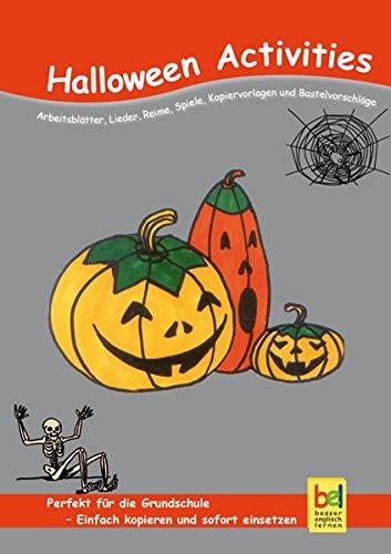 Halloween Activities: Arbeitsblätter, Lieder, Reime, Spiele, Kopiervorlagen und Bastelvorschläge für den Unterricht]()
