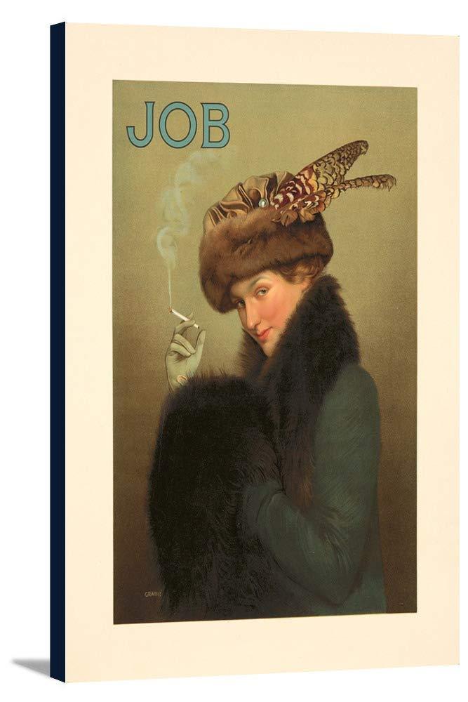 ジョブヴィンテージポスター(アーティスト: Granie )フランスC。1913 16 x 24 Gallery Canvas LANT-3P-SC-72717-16x24 B01CXXLGNG  16 x 24 Gallery Canvas