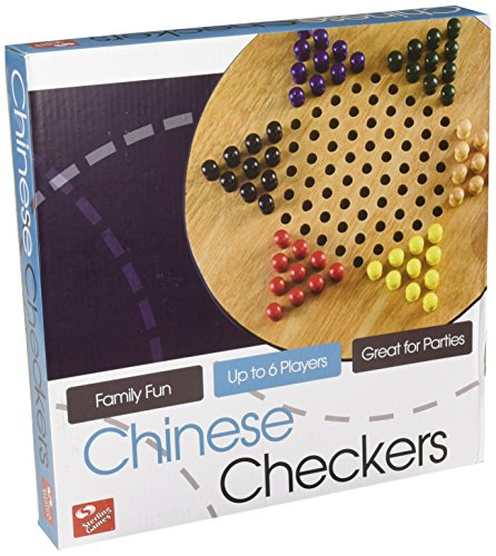 (STERLING Wooden Chinese Checkers Board Game)