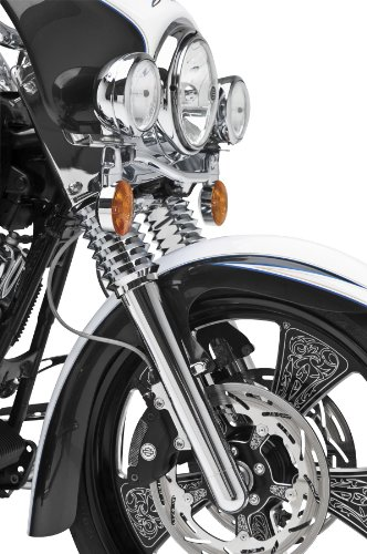 Arlen Ness Hot Legs Dual Disc fork Leg Set Deep Cut Chrome 40-502 - Arlen Ness Motorcycles