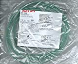 Adult Ultra Soft Oxygen Cannula, green tubing - 7