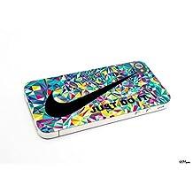 Just Do It Nike Aztec Geometric 05 Custom Case for Iphone 4/4s 5 5c 6 6plus (Iphone 5 white)