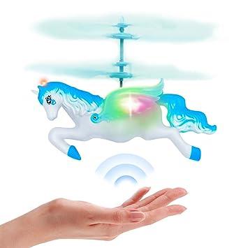 Amazon.com: Juguetes de dragón de unicornio volador para ...