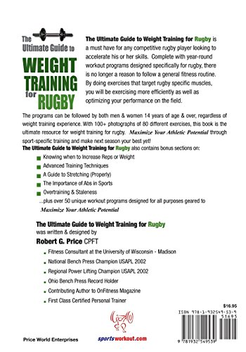 Ultimate Guide to Weight Training for Rugby