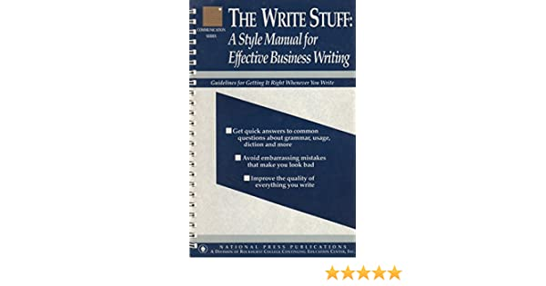 business writing structure